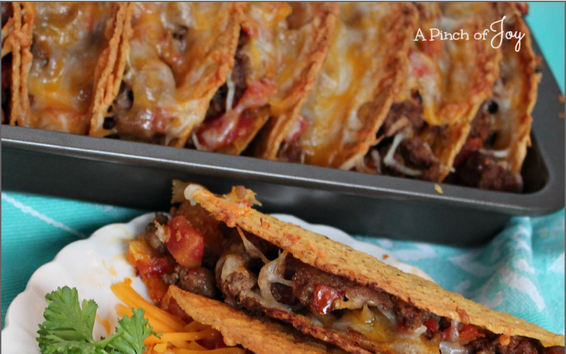 Baked Tacos — Chicken or Beef!