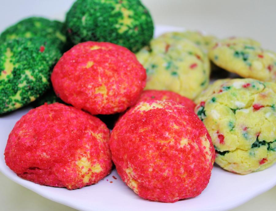 Butter Fluff Cookies - A Pinch of Joy