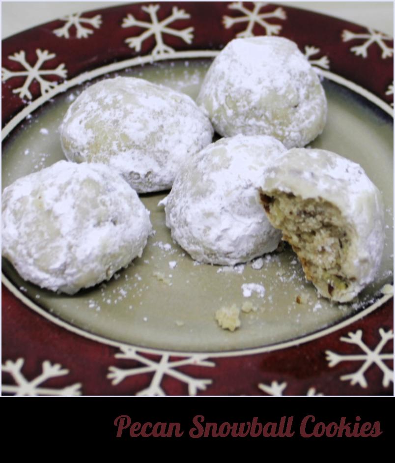 Pecan Snowballs - A Classic Cookies at A Pinch of Joy