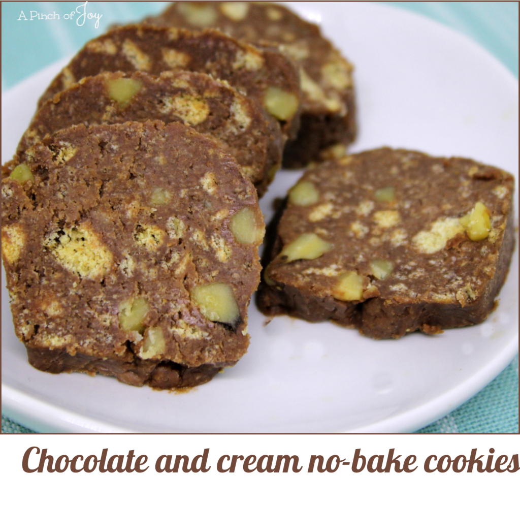 Crazy, easy recipe! Buttery soft and creamy no-bake chocolate cookies.